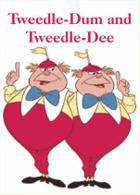 Tweedle-Dum and Tweedle-Dee