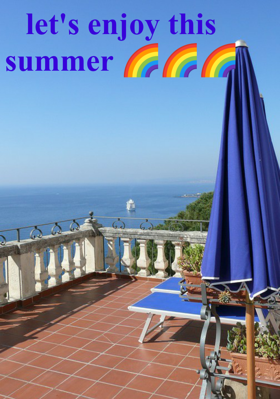 let's enjoy this summer