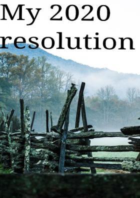 My 2020 Resolution