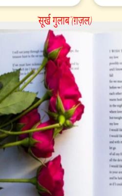 """""""सुर्ख गुलाब""""(ग़ज़ल)"""