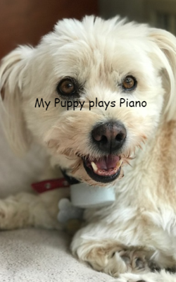 My Puppy plays Piano