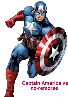 Captain America vs no-remorse