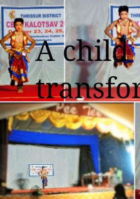 A Child  Is a Transformer