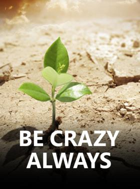 Be Crazy Always