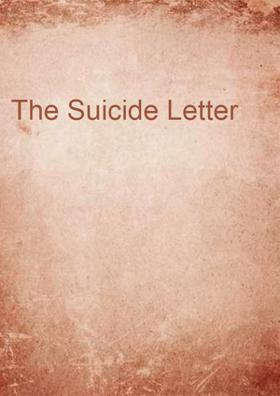 The Suicide Letter