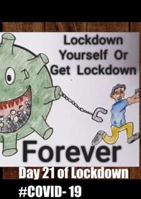 Day 21 of Lockdown #COVID- 19