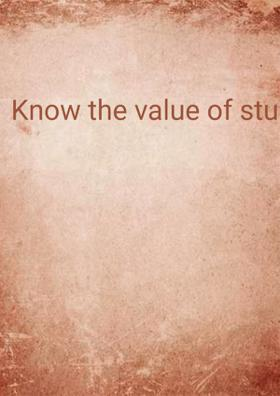 Know The Value Of Studies