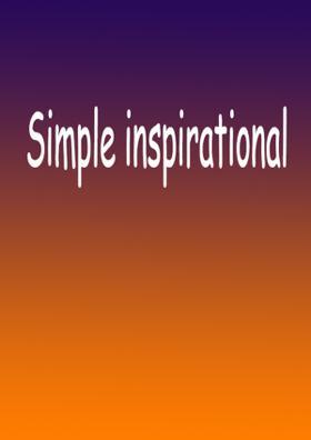 Simple Inspirational Tunes