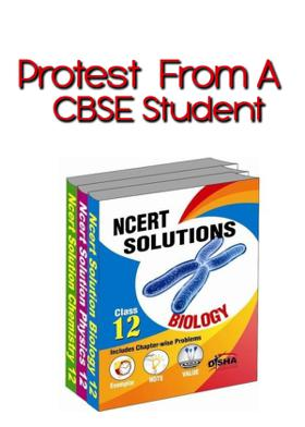 Protest From A CBSE Student