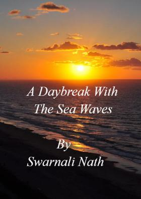 A Daybreak With The Sea Waves