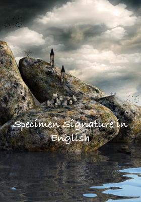 Specimen Signature in English