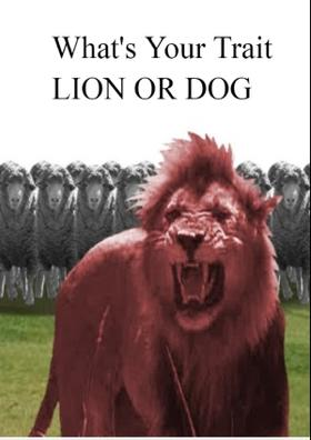 What's Your Trait  LION OR DOG
