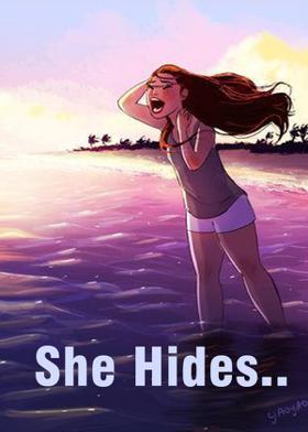 She Hides..