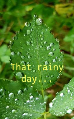That rainy day...