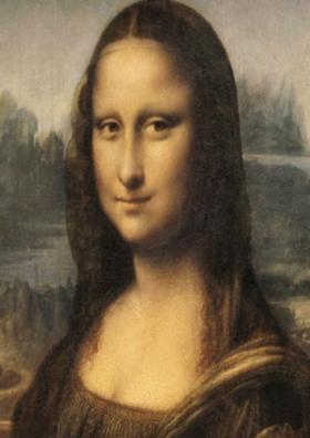 Talking to Vinci's Monalisa