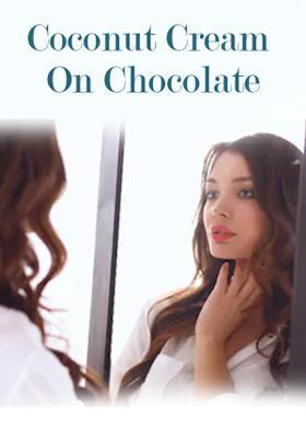 Coconut Cream On Chocolate