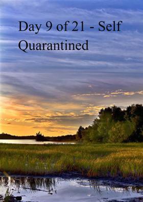 Day 9 of 21 - Self Quarantined