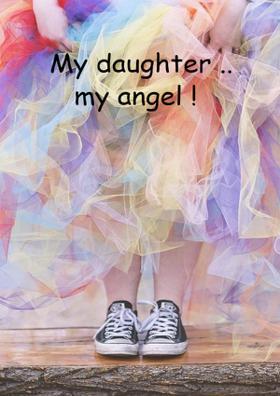 My Daughter ..My Angel !