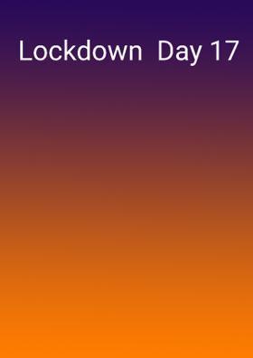 Lockdown  Day 17
