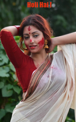 Her Holi Communion through Dance