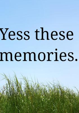 Yess, These Are The Memories..