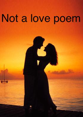 Not A Love Poem