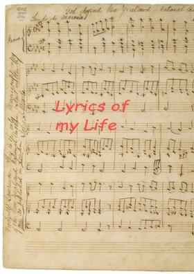 Lyrics Of My Life