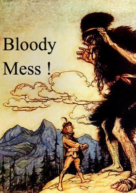 A Bloody Mess!
