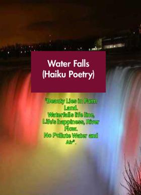 Water Falls (Haiku Poetry)