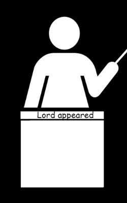 Lord Appeared