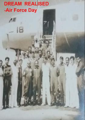 Dream Relished  -Air Force Day