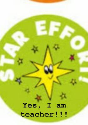 Yes, I am teacher!!!