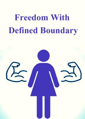 Freedom With Defined Boundary
