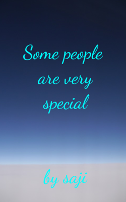 Some People Are Very Special