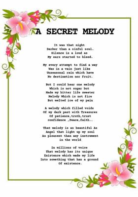 A Secret Melody