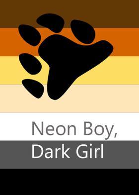 Neon Boy, Dark Girl