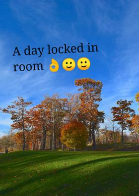 A Day Locked In Room