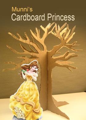 Munni's Cardboard Princess