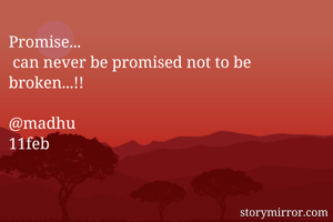 Promise...