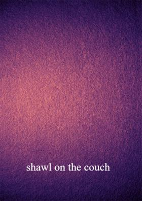 Shawl On The Couch