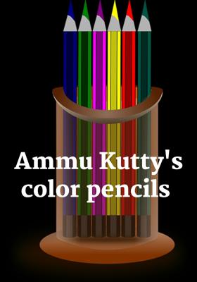 Ammu Kutty's Color Pencils