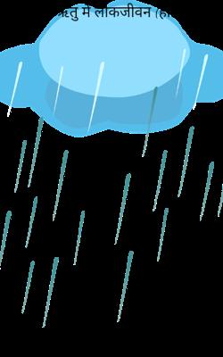 वर्षा ऋतु में लोकजीवन (हाइकु)