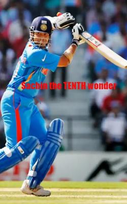 Sachin the tenth wonder