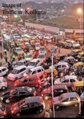 Image of Traffic in Kolkata