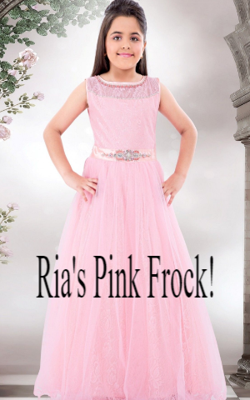 Ria's Pink Frock!