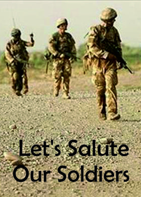 Let's Salute Our Soldiers