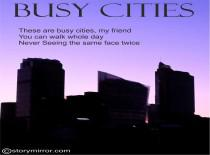 Busy Cities