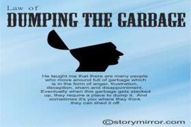 Law Of Dumping The Garbage