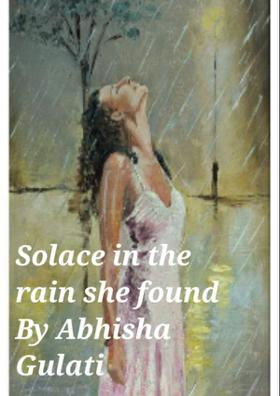 Solace In The Rain She Found