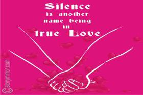 Silence Is Another Name For Being In True Love??